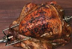 Smoked Turkey cooked over a wood fire on the Gaucho Grill Grilled Turkey, Roasted Turkey, Rotisserie Turkey, Cooking Tips, Cooking Recipes, Roast Turkey Recipes, Turkey Wings, Smoke Grill, Smoked Turkey