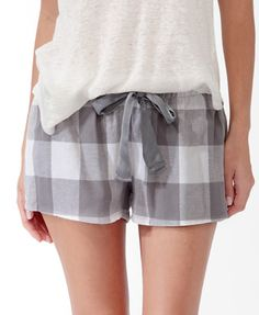Buffalo Plaid PJ Shorts | FOREVER21 - 2030187079