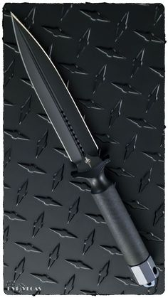 Marfione Custom Knives ADO Double Edge DLC Apocalyptic Fixed Knife Blade @aegisgears