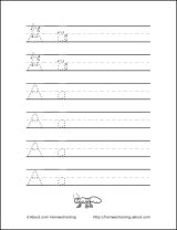 Fun Language Arts Worksheets on Vocabulary, Phonics, and More: Handwriting Practice Sheets