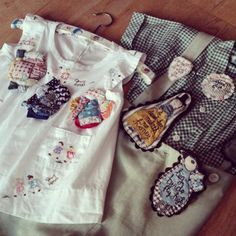 Come and hand-stitch brooches with Julie Arkell at Ray Stitch