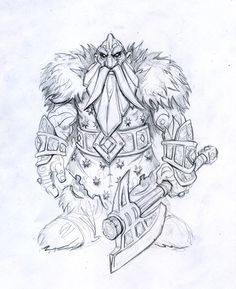 World of Warcraft - Wrath of the Lich King - Iron Dwarf - Mark Gibbons