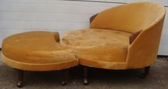 Mid Century Adrian Pearsall Chair & Ottoman!! in Hackensack, New Jersey ~ Apartment Therapy Classifieds