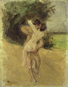 Max Liebermann - Love scene, 1926