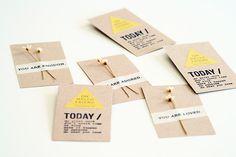 BePunt: DIY: tarjetas de visita