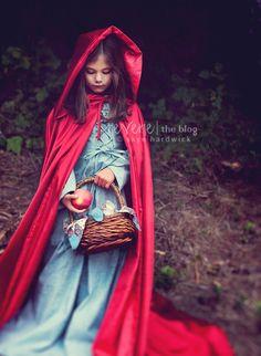 Red Riding Hood on the Reverie Blog - photog. Skye Hardwick Edmonds © 2011 #reverie