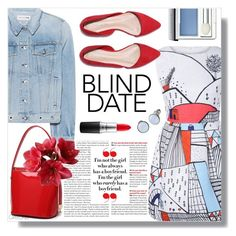 """Blind Date"" by gretokia ❤ liked on Polyvore featuring rag & bone, Clinique, Skagen and blinddate"