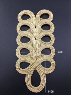 Your place to buy and sell all things handmade Bordados Tambour, Hand Embroidery, Embroidery Designs, Military Costumes, Diy Crafts Hacks, Couture Sewing, Gold Work, Ribbon Work, Costumes