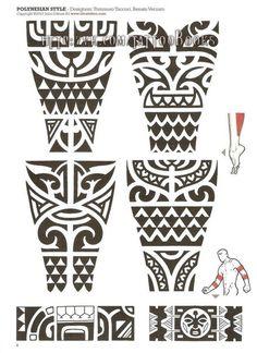 Tribal Maori and Polynesian