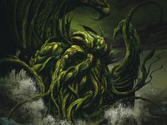 Cthulhu for President! Check out his presidential cabinet! join the LOVECRAFT.