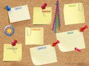 Calendar to track activities