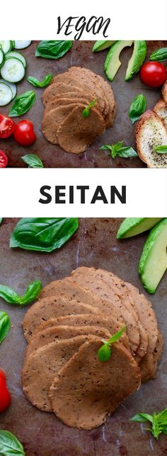 Seitan - Seitan is a fantastic meat alternative. Made from protein-rich wheat gluten, it is both tasty and nutritious. You can do just about anything with seitan from sandwiches to stir fries and this recipe is the best I have ever made. If you're concerned about heating up plastic wrap, you can skip this step, it is mainly to help the seitan keep its shape.