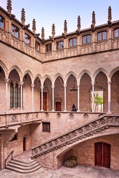 Palace of the Generalitat, Barcelona.