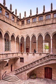 Palacio de la Generalitat, Barcelona.
