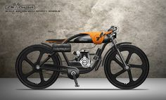 LM CRUISER - MOTORIZED BICYCLE on Behance