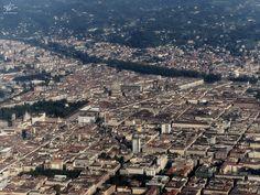 Atterrando a Torino Landing in Turin #fotografandocreativamente #torino #panorama