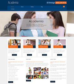 Free-Academia-Education-Website-Template