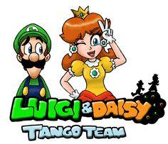 Luigi and Daisy : Tango Team by Kenichi-Shinigami.deviantart.com on @deviantART