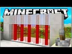 Here's how you can build a simple survival-friendly Laser Door in Minecraft. ♫Universal removed the song. Consequently, I have no where to upload it. Minecraft Redstone Creations, Minecraft Room, Minecraft Videos, Minecraft Designs, How To Play Minecraft, Minecraft Stuff, Minecraft Architecture, Minecraft Buildings, Minecraft Building Blueprints