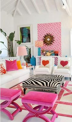 Looking for inspiration to decorate your daughter's room? Check out these Adorable, creative and fun girls' bedroom ideas. room decoration, a baby girl room decor, 5 yr old girl room decor. Bold Living Room, Living Room Trends, Living Room Designs, Living Room Decor, Baby Girl Room Decor, Cool Rooms, Creative Home, Room Colors, Interiores Design