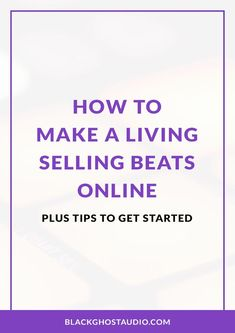 Learn what it takes to quit your day job and work full-time as a beat maker. Audio Engineer, Music Promotion, What It Takes, Indie Music, Recording Studio, Get Started, Beats, How To Get, Tutorials