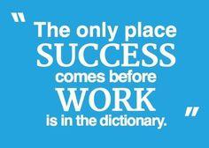 Indeed.   #success