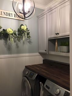 Amazing Farmhouse Laundry Room Decor Ideas 33