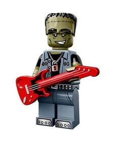 LEGO MONSTER ROCKER MINIFIGURE Halloween Figure Series 14 71010 #LEGO