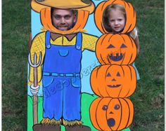 halloween photo booth prop ghosts personalized fall face in hole cutout outdoor decoration photo op - Face In Hole Halloween