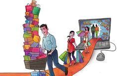Thương mại điện tử không tách khỏi bán lẻ truyền thống
