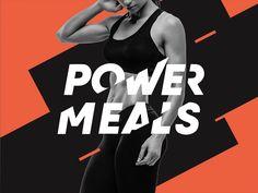 https://www.behance.net/gallery/43196329/Power-Meals