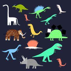 Rob Hodgson, Dinos