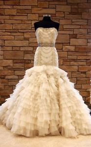 Lazaro #3150 Designer Wedding Dress
