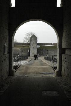 Citadel gate at Besançon