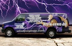 Window Genie - Let the power of the Genie work for you! Window Cleaning, Window Tinting, Pressure Washing, Gutter Clean-out and MORE! Professional Window Cleaning, Gutter Cleaning, Clean Tile Grout, Grout Cleaner, Pressure Washing, Window Cleaner, Business Casual, Windows, Style