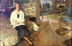 La Comtesse Jean de Polignac., née Marie Blanche di Pietro by Edouard Vuillard c. 1932.