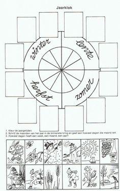 .Werkblad sorteren: De seizoenen