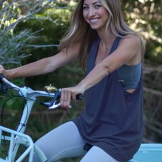 Breathe Freely Tank -- Midnight Blue, Albion Fit, looks amazing!