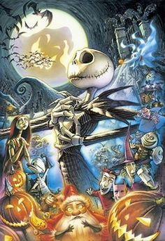 Disney/Tim Burton Nightmare Before Christmas Jack Skellington Art Tim Burton, Tim Burton Kunst, Film Tim Burton, Tim Burton Artwork, Disney And Dreamworks, Disney Pixar, Disney Characters, Disney Love, Disney Art