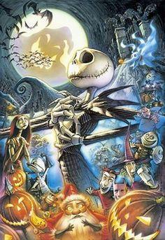 Disney/Tim Burton Nightmare Before Christmas Jack Skellington Art Tim Burton, Film Tim Burton, Tim Burton Artwork, Disney Love, Disney Art, Animation, Elfen Fantasy, Fröhliches Halloween, Halloween Tattoo