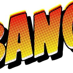 BANG! Comic Art, Comic Effect, Comic Book Text, Text, Action Words, Big Action Words, Super Heros, Superhero, Superhero words #CHECKOUT the BANG! Collection!! #ComicArt , #ComicEffect , #ComicBook #Text, Text, Action Words, Big Action Words, #SuperHeros , #Superhero , Superhero words https://www.redbubble.com/people/houseofbissy/works/30582723-bang-comic-art-comic-effect-comic-book-text-text-action-words-big-action-words-super-heros-superhero-superhero-words?asc=t via @redbubble