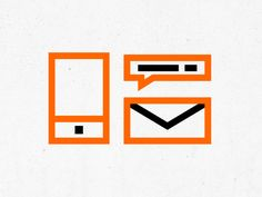 Bold outlined icons by Alexander Lovyagin
