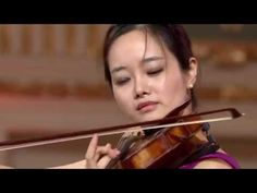 VC Artist Bomsori Kim from South Korea performing Wieniawski's 'Polonaise in D Major, Op. with collaborative pianist Hanna Holeksa - at Stage 1 of the Classical Music, Violin, Youtube, Retro, Vintage, Classic Books, Vintage Comics, Retro Illustration, Youtubers