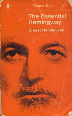 OK, so this could also go on our Oak Park board, but it's quite perfect here, too. The Essential Hemingway from 1964.  via Montague Projects.