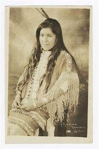 Apache Indian Girl - G.E.E Lindquist Native American ...