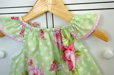 Toddler girls dress Flutter baby dress by BlueKangarooHandmade