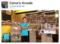 9 Year Old Builds Cardboard Arcade - coolest thing i've seen all week!