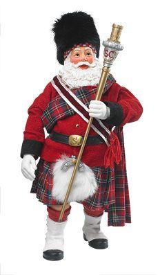 Celtic Holiday - Scottish Santa