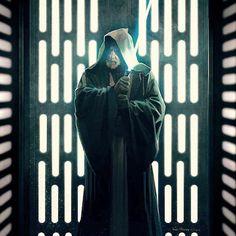 Star Wars: A New Hope Obi-Wan Kenobi prepares to confront Darth Vader on the Death Star...