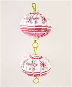 20 originales Bolas de Navidad que tú puedes hacer
